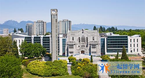 加拿大名校UBC大学介绍