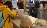 林肯大学食堂就餐实景拍摄