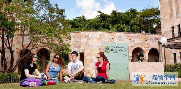 昆士兰大学校园环境
