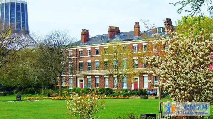 利物浦大学春天景色