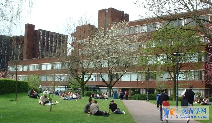 曼切斯特城市大学校园总体环境