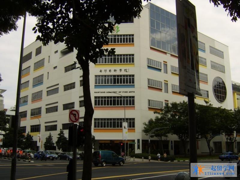 新加坡南洋艺术学院在哪里及校区详细地址介绍