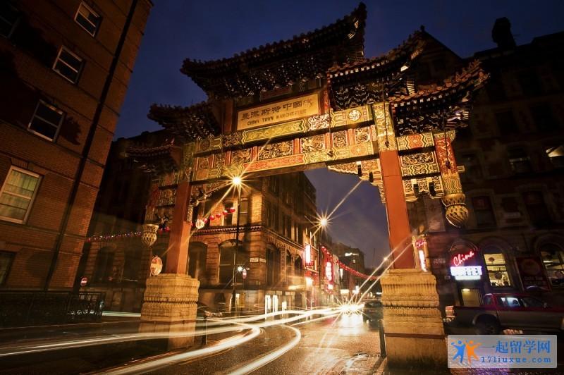 曼彻斯特中国城