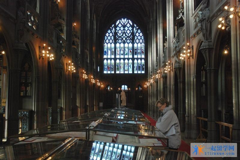 曼彻斯特大学 (8) 图书馆