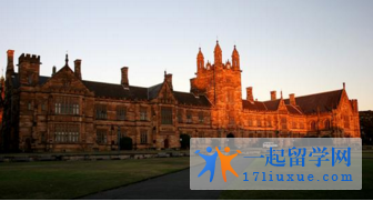 2017悉尼大学申请指南(世界排名,学费,课程设置,学费,条件.开学时间,申请材料)