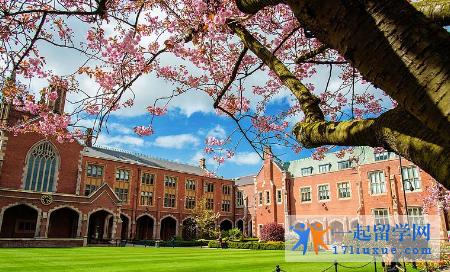 英国贝尔法斯特女王大学研究生申请条件及研究生学费解析