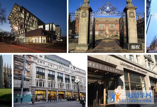 英国留学:威斯敏斯特大学研究生申请材料和申请难度介绍