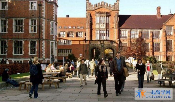 英国纽卡斯尔大学中国留学生多吗?