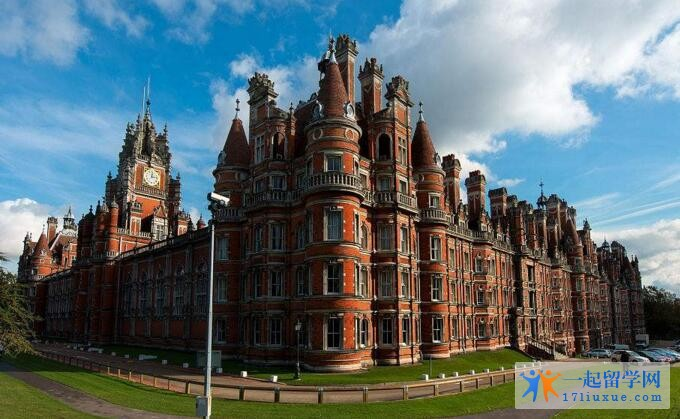 英国皇家霍洛威学院中国留学生多吗?