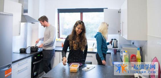 英国拉夫堡大学住宿区域和住宿费用详解