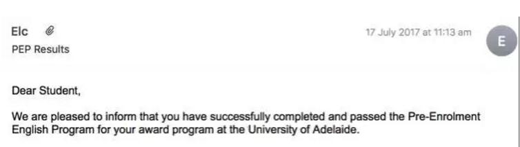 澳洲阿德莱德大学语言班读后感