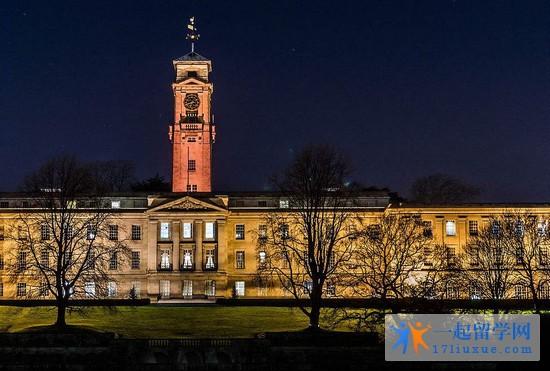2018年诺丁汉大学专业设置有哪些?申请条件是什么?