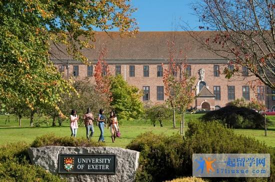 2018年埃克斯特大学专业设置及申请条件详细介绍